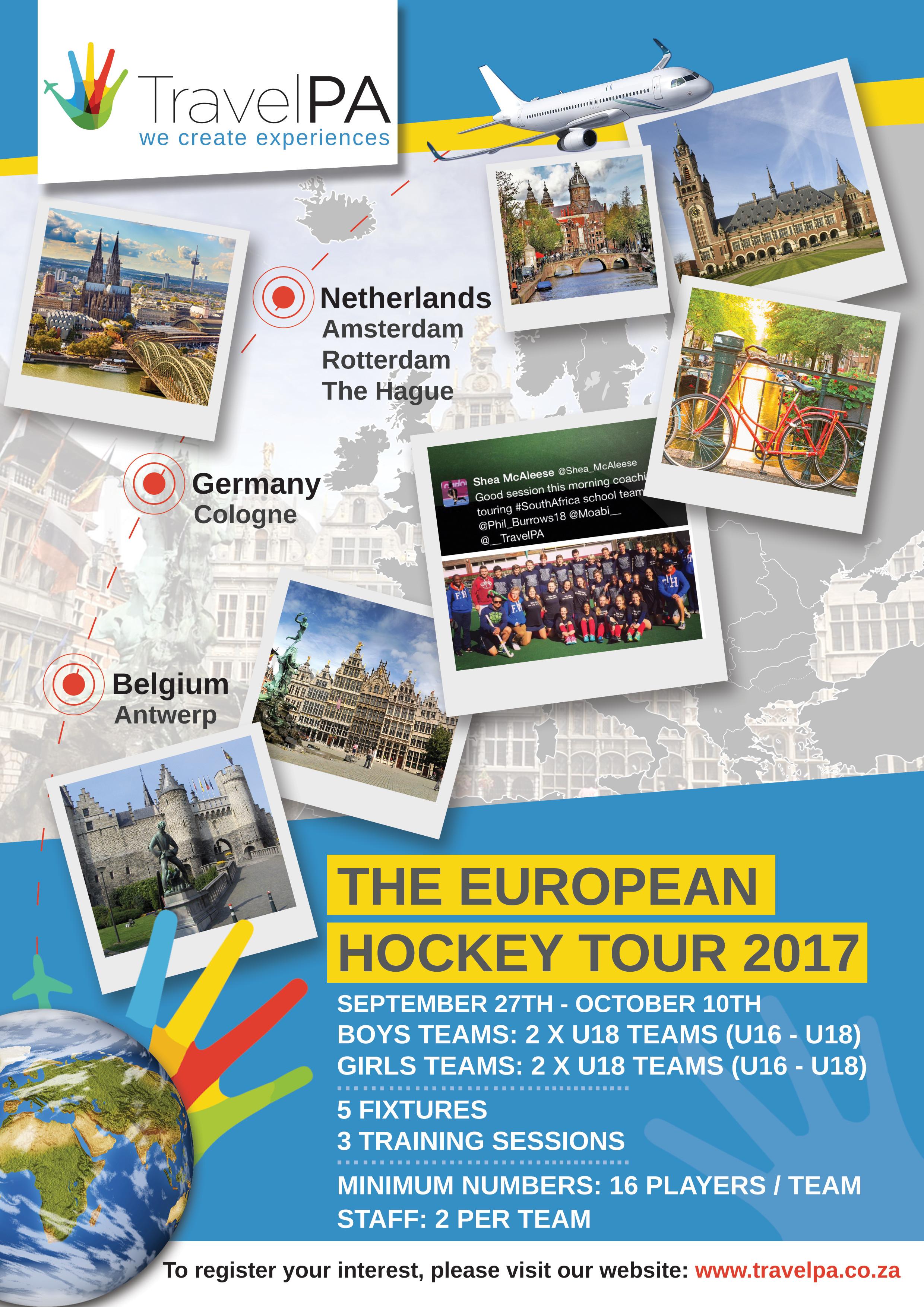 Europe Hockey Tour - September   2017